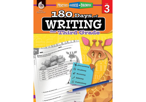 SHELL EDUCATION 180 Days of Writing, Grade 3