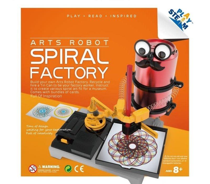 Arts Robot Spiral Factory