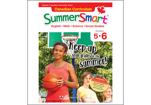 Popular Book Company Canadian Curriculum Summer Smart 5-6 REVISED