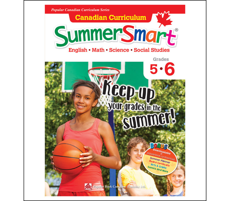 Canadian Curriculum Summer Smart 5-6 REVISED