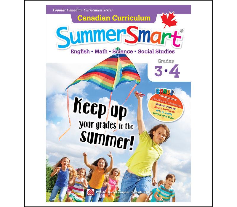 Canadian Curriculum Summer Smart 3-4 REVISED