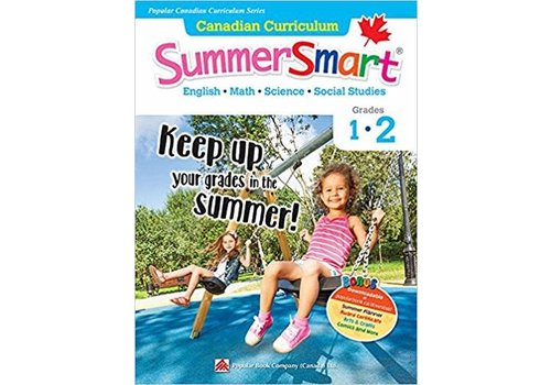 Popular Book Company Canadian Curriculum Summer Smart 1-2 REVISED