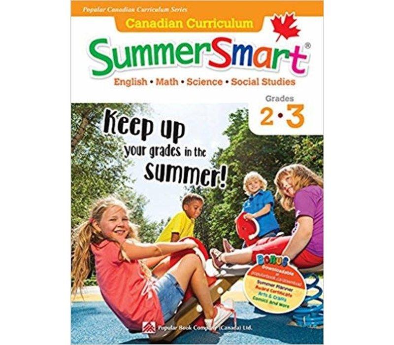 Canadian Curriculum Summer Smart 2-3 REVISED
