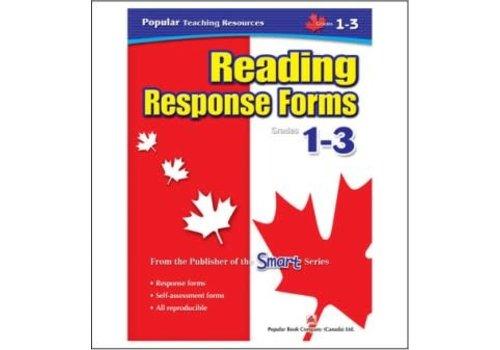 Popular Book Company Reading Response Forms, Grades 1-3
