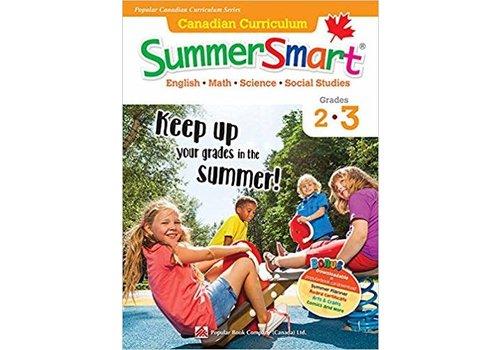 Popular Book Company Canadian Curriculum Summer Smart 2-3