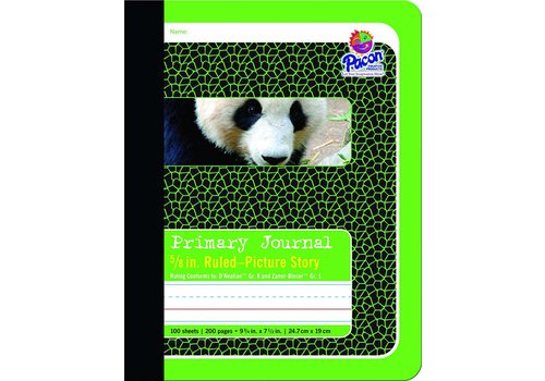 "PACON Primary Journal, Half Rule 5/8"" GREEN"