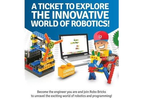 Robo Bricks -Tuesdays 7-8pm