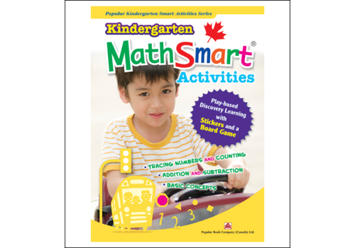 Popular Book Company Kindergarten MathSmart Activities