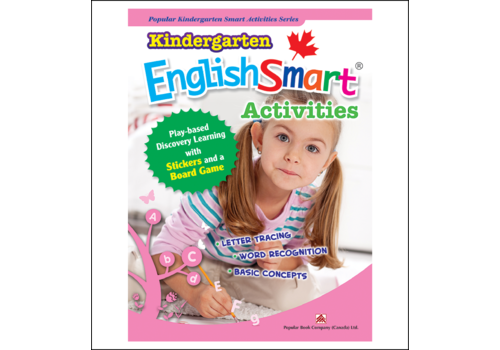 Popular Book Company Kindergarten EnglishSmart Activities