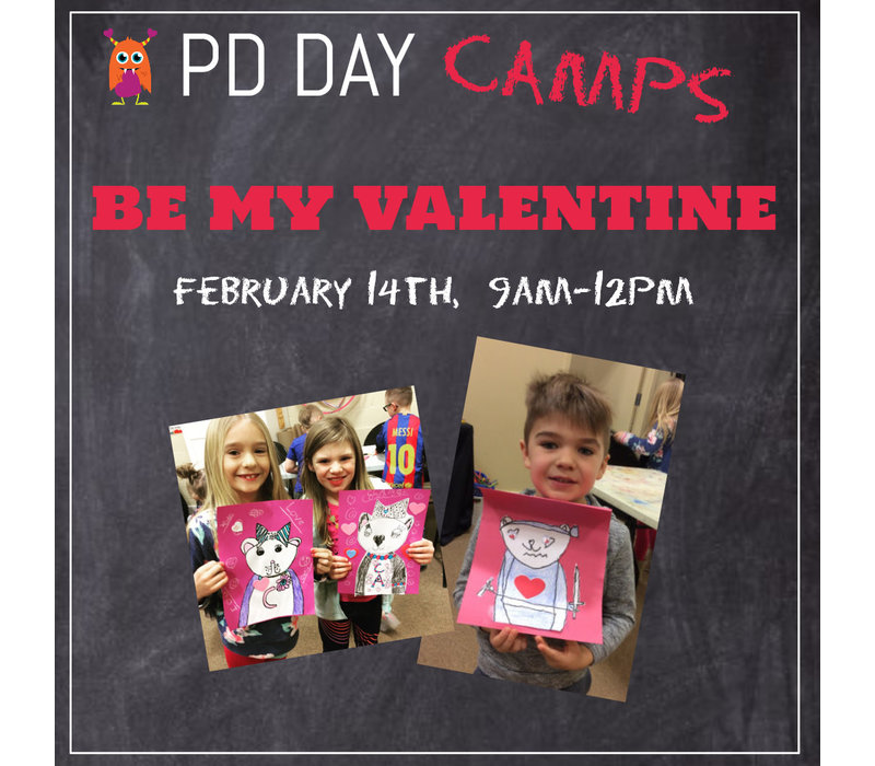 Be My Valentine PD Day Camp
