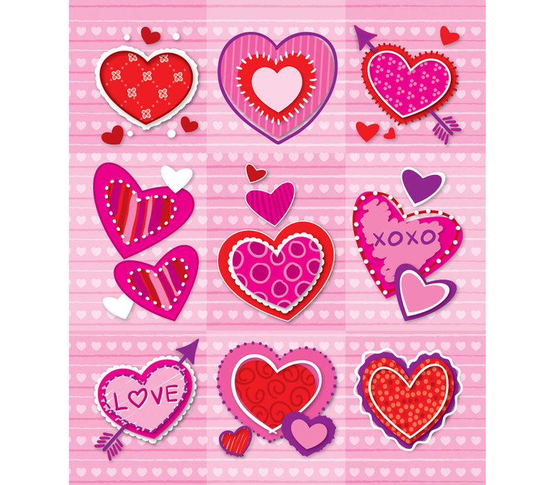 Valentine Prize Pack Stickers
