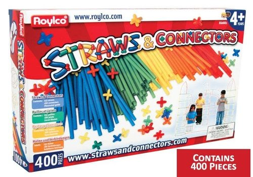 ROYLCO Straws & Connectors -400pc