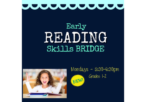 Early Reading Skills  - Part 2  Spring   Mondays 5:30-6:30