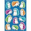 Trend Enterprises Colorful Hedgehogs Sparkle Stickers® – Large *