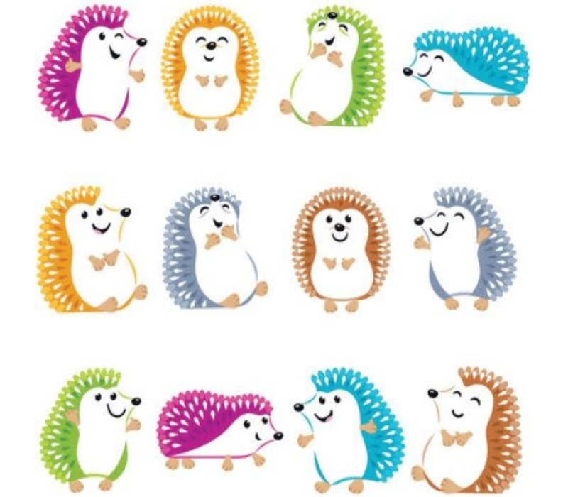 Colorful Hedgehogs Mini Accents Variety Pack *