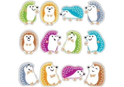 "Trend Enterprises Colorful Hedgehogs 6"" Accents Variety Pack *"