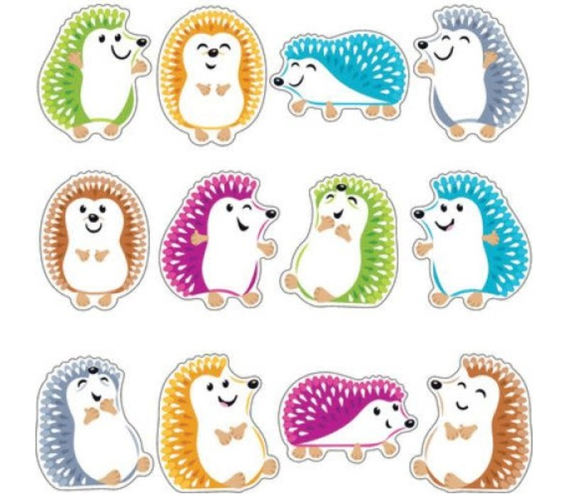 """Colorful Hedgehogs 6"""" Accents Variety Pack *"""
