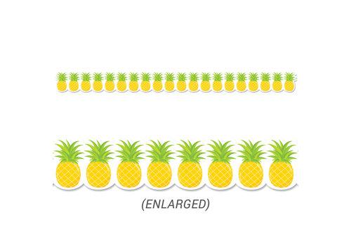 Creative Teaching Press Pineapples Die-Cut Border *