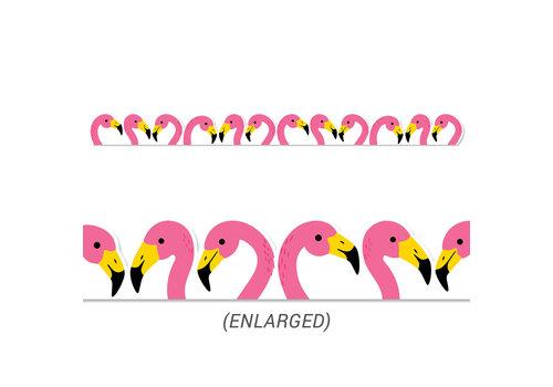 Creative Teaching Press Flamingos Die-Cut Border *