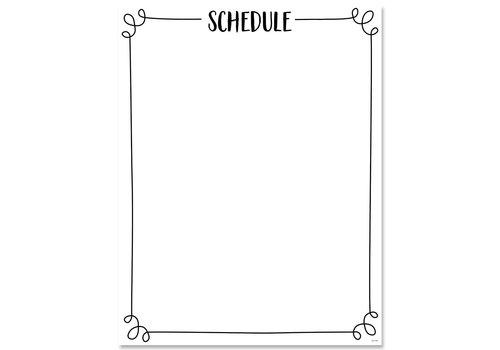 Creative Teaching Press Core Decor Schedule Chart