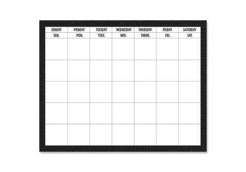 """Creative Teaching Press Swiss Dots Calendar Chart 28"""" x22"""""""