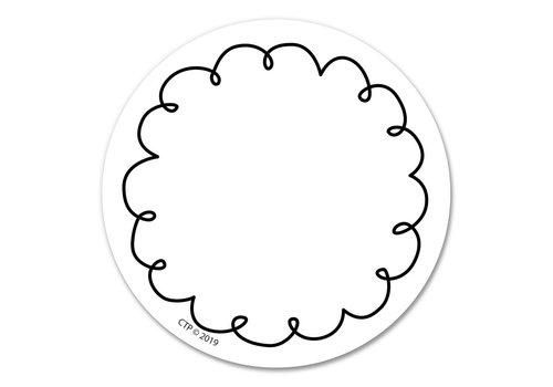 "Creative Teaching Press Loop-de-Loop 3"" Designer Cut-Outs"