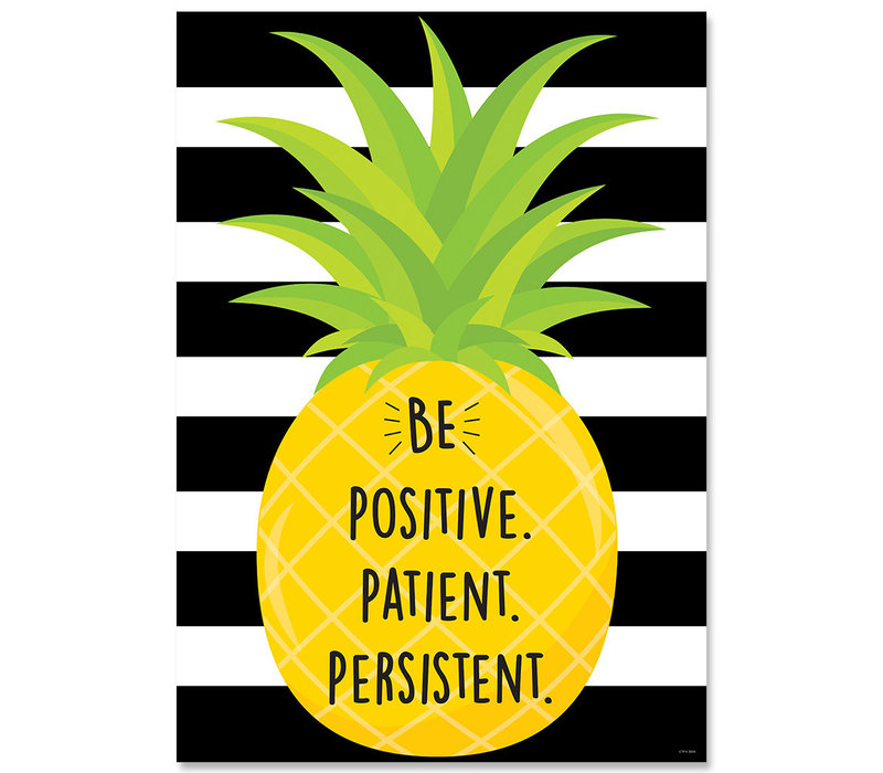 Be Positive, Patient, Persistent Poster*