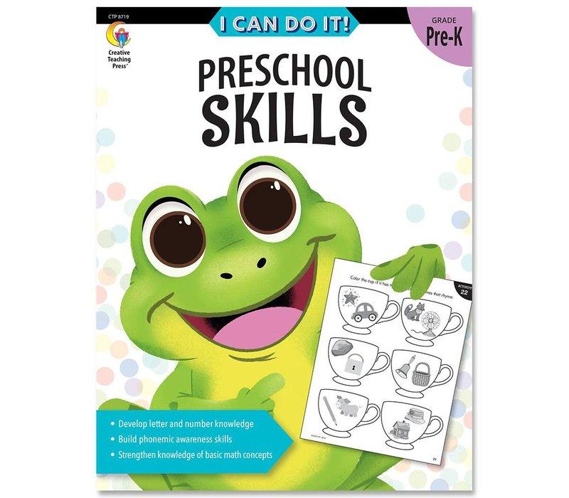 I Can Do It! Books Preschool Skills *