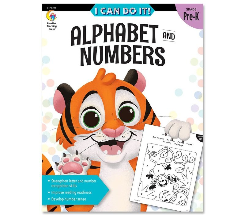 I Can Do It! Books Alphabet & Numbers *