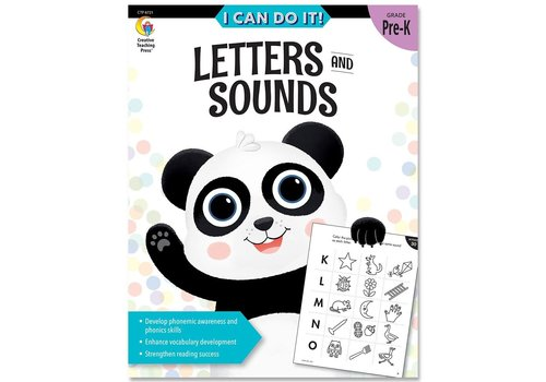 Creative Teaching Press I Can Do It! Books Letters & Sounds *