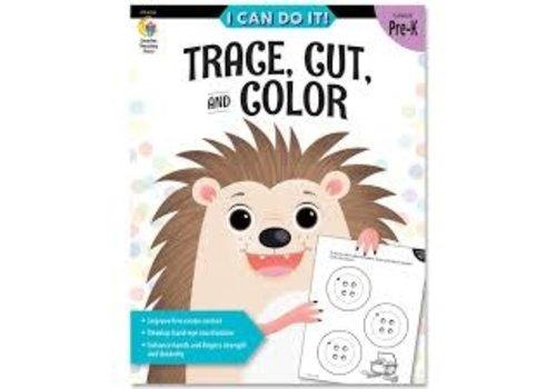 Creative Teaching Press I Can Do It! Books Trace, Cut & Color *