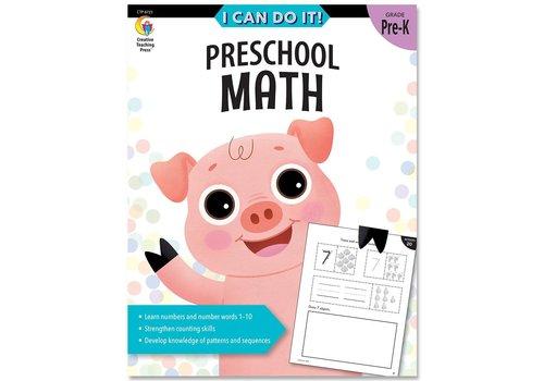 Creative Teaching Press I Can Do It! Books Preschool Math *