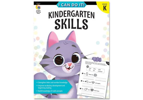 Creative Teaching Press I Can Do It! Books Kindergarten Skills *