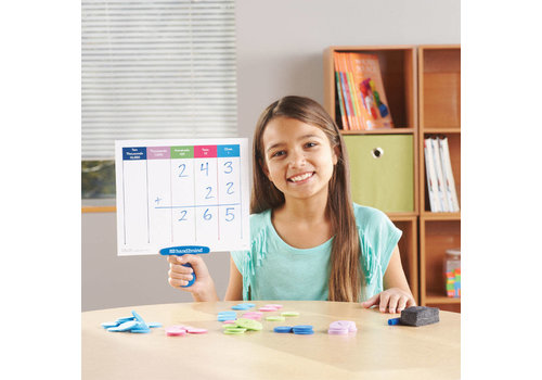 Hand2Mind Place Value Answer Boards, Set of 4