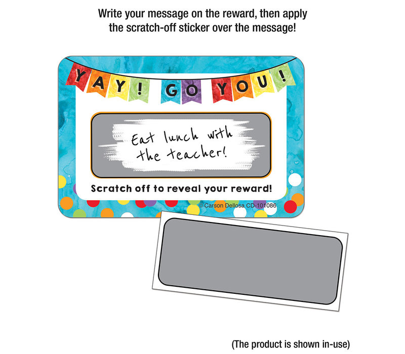 Yay! Go You! Scratch Off Awards & Certificates