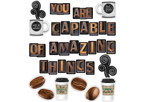 Carson Dellosa You Are Capable of Amazing Things Bulletin Board Set *