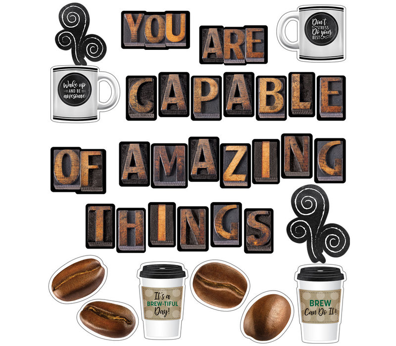 You Are Capable of Amazing Things Bulletin Board Set *