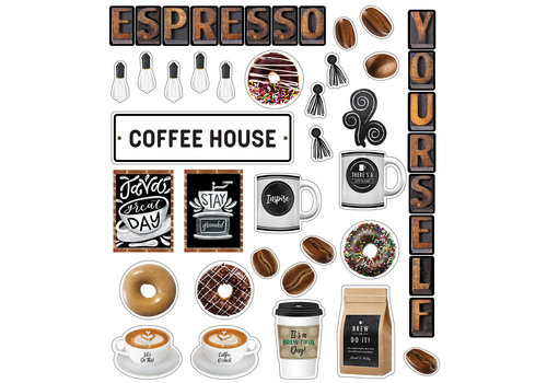 Carson Dellosa Espresso Yourself Mini Bulletin Board Set *
