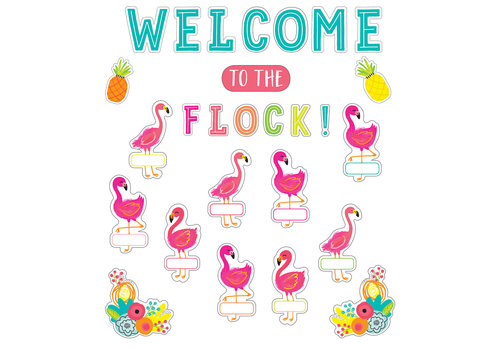 Carson Dellosa Welcome to the Flock Bulletin Board Set