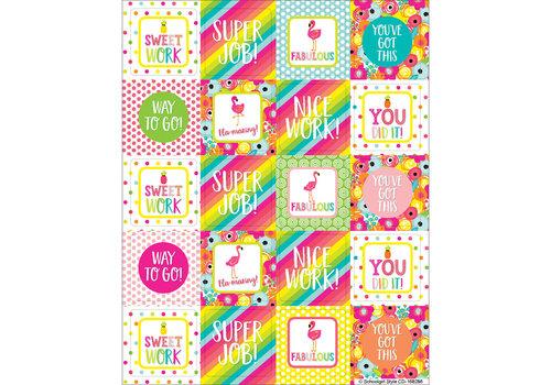 Carson Dellosa Simply Stylish Tropical Motivators Motivational Stickers