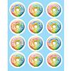 Carson Dellosa Rainbow Donut Shape Stickers *