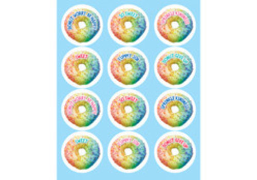 Carson Dellosa Rainbow Donut Shape Stickers *