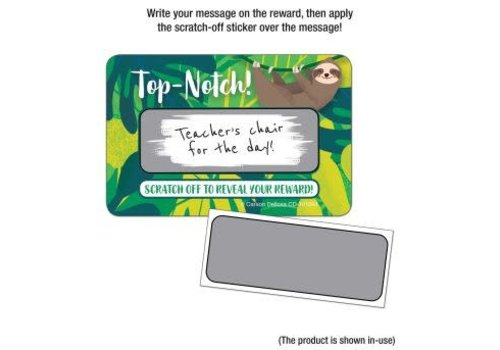 Carson Dellosa Top-Notch! Scratch Off Awards & Certificates *