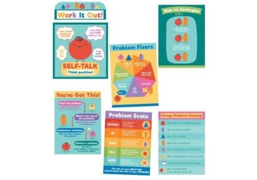 Carson Dellosa Social Problem-Solving Bulletin Board Set*