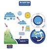 Carson Dellosa The Water Cycle Bulletin Board Set