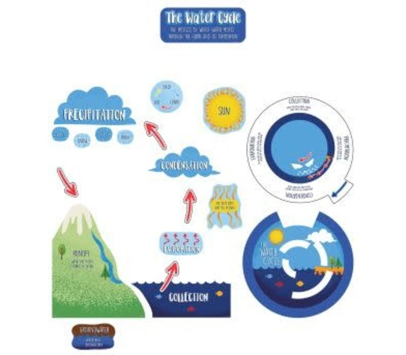 The Water Cycle Bulletin Board Set