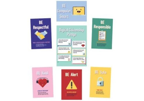 Carson Dellosa Digital Citizenship Bulletin Board Set *