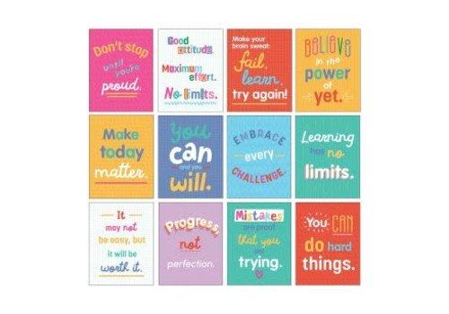 Carson Dellosa Mini Posters: Growth Mindset Quotes Poster Set *