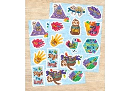 Carson Dellosa One World Motivators Motivational Stickers*