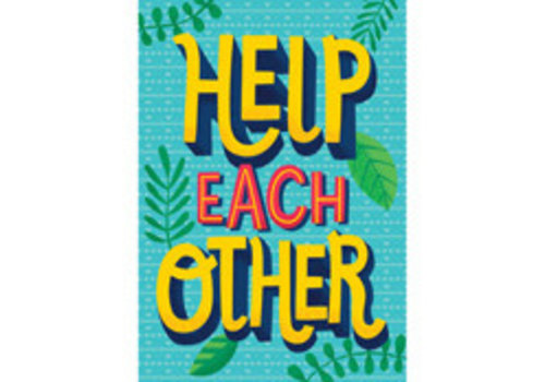 Carson Dellosa Help Each Other Poster*